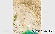 Satellite Map of Khuzestan