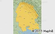 Savanna Style Map of Khuzestan