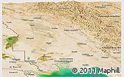 Satellite Panoramic Map of Khuzestan