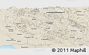 Shaded Relief Panoramic Map of Kohgiluyeh & Boyer Ahmad