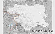 Gray 3D Map of Kordestan