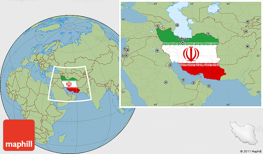 Flag location map of iran savanna style outside gumiabroncs Images