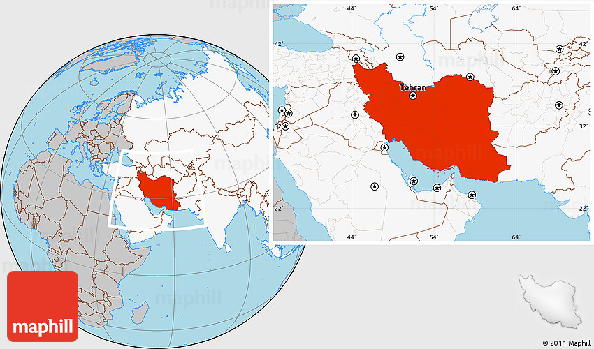 Gray location map of iran highlighted continent 2d gumiabroncs Choice Image