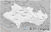 Gray 3D Map of Lorestan