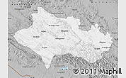 Gray Map of Lorestan