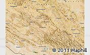 Satellite Map of Lorestan