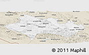 Classic Style Panoramic Map of Lorestan