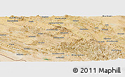 Satellite Panoramic Map of Lorestan
