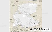 Classic Style 3D Map of Markazi