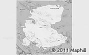 Gray 3D Map of Markazi
