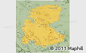 Savanna Style 3D Map of Markazi