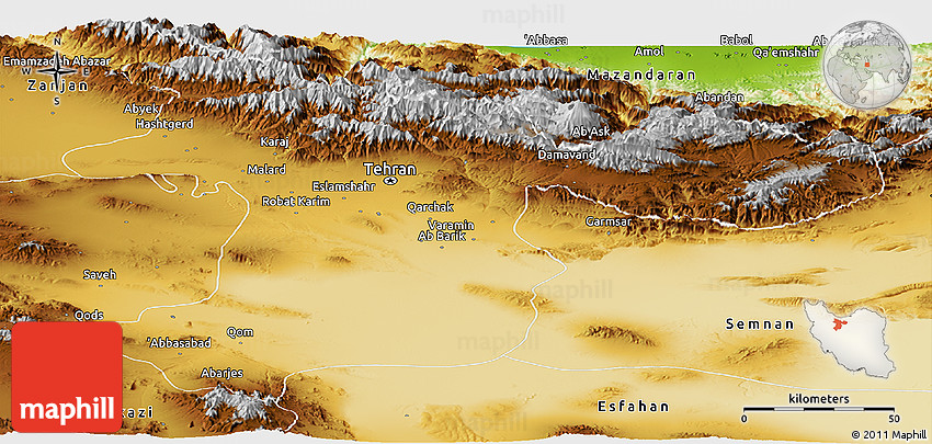 Physical panoramic map of tehran 2d gumiabroncs Image collections