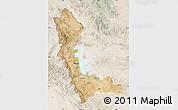 Satellite Map of West Azarbayejan, lighten