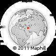 Outline Map of West Azarbayejan