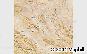 Satellite 3D Map of Yazd