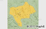 Savanna Style 3D Map of Yazd