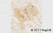 Satellite Map of Yazd, lighten