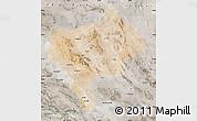 Satellite Map of Yazd, semi-desaturated