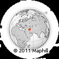 Outline Map of Zanjan