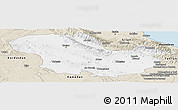 Classic Style Panoramic Map of Zanjan