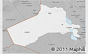 Gray 3D Map of Al-Anbar