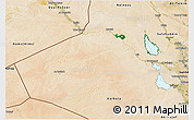 Satellite 3D Map of Al-Anbar