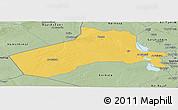 Savanna Style Panoramic Map of Al-Anbar