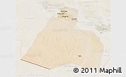 Satellite 3D Map of Al-Muthannia, lighten