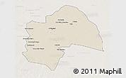 Shaded Relief 3D Map of Al-Qadisiyah, lighten