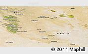 Satellite Panoramic Map of Al-Qadisiyah