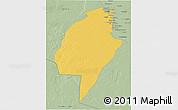 Savanna Style 3D Map of An-Najaf
