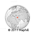 Outline Map of Arbil