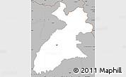 Gray Simple Map of Arbil