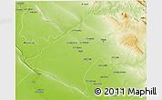 Physical 3D Map of At-Tamim