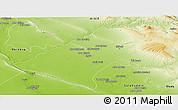 Physical Panoramic Map of At-Tamim