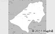 Gray Simple Map of At-Tamim