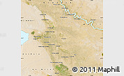 Satellite Map of Babil