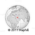 Outline Map of Babil