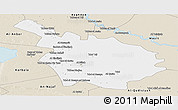 Classic Style Panoramic Map of Babil