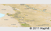 Satellite Panoramic Map of Babil