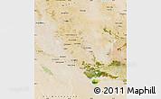 Satellite Map of Dhi-Qar