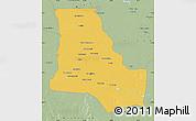 Savanna Style Map of Dhi-Qar