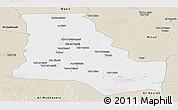 Classic Style Panoramic Map of Dhi-Qar