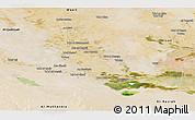 Satellite Panoramic Map of Dhi-Qar