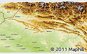 Physical 3D Map of Dihok