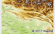 Physical Map of Dihok
