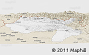 Classic Style Panoramic Map of Dihok