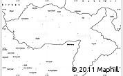 Blank Simple Map of Dihok