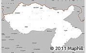Gray Simple Map of Dihok