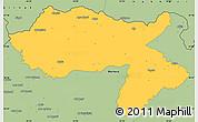 Savanna Style Simple Map of Dihok